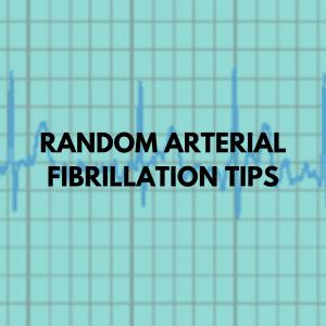 Random ARTERIAL FIBRILLATION