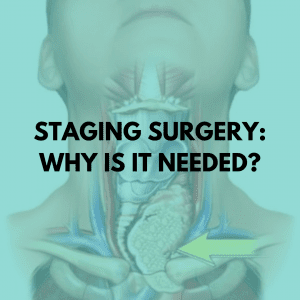 Staging surgery