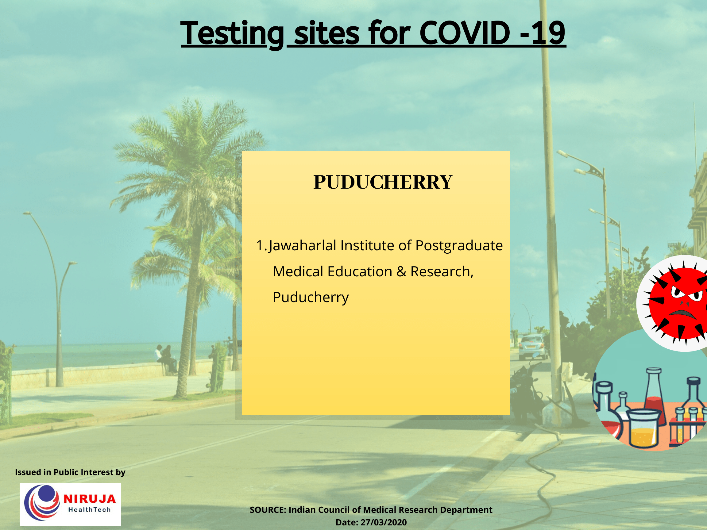 Government Testing centre Puducherry