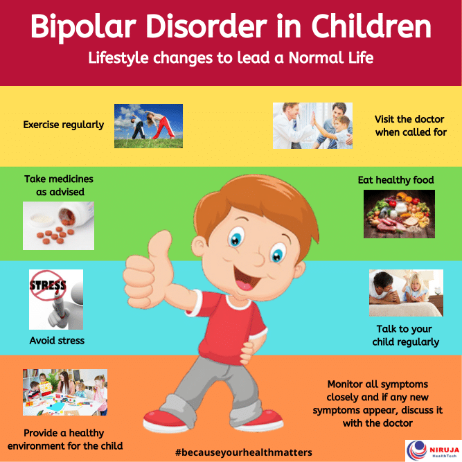 Bipolar disorder in children: Lifestyle changes to lead a normal life